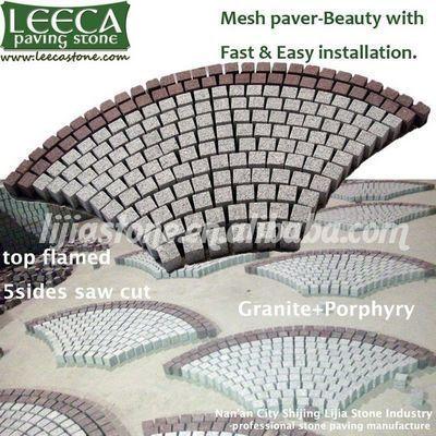 Fan paving stone,cobblestone mats,paver supplier - LEECA - The ...