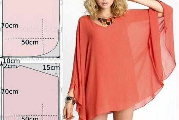 Patrones fáciles para hacer una túnica