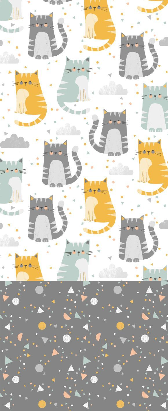 wendy kendall designs – freelance surface pattern designer » cat confetti