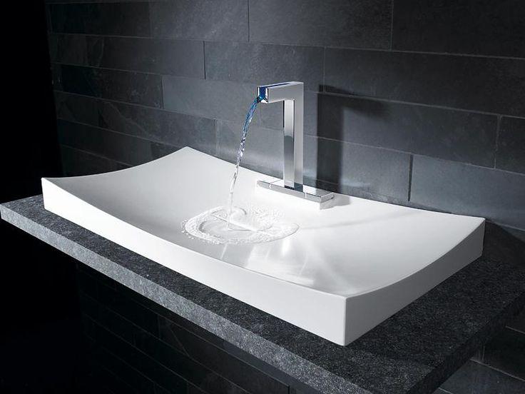 87 besten Badezimmer Bilder auf Pinterest Badezimmer - waschbecken design flugelform