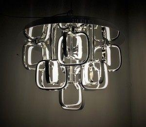 Lampa sufitowa ALTO 135W LED chrom plafon