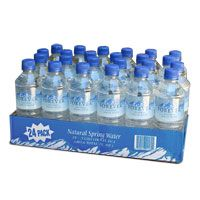 Forever Natural Spring Water - case of 24 This is not the average water. Researched most of the bottled water and it's not worth buying.