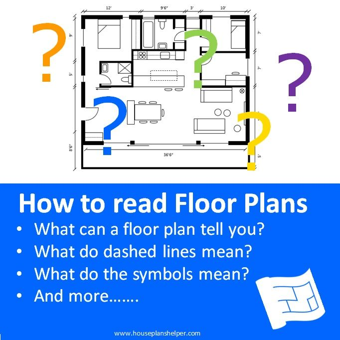 How To Read Floor Plans Click Through To Www Houseplanshelper Com For More On How To Read Floor Plans House Plans Floor Plans How To Plan Floor Plan Symbols