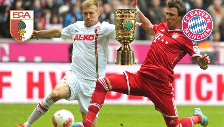 DFB-Pokal: FCA gegen FC Bayern