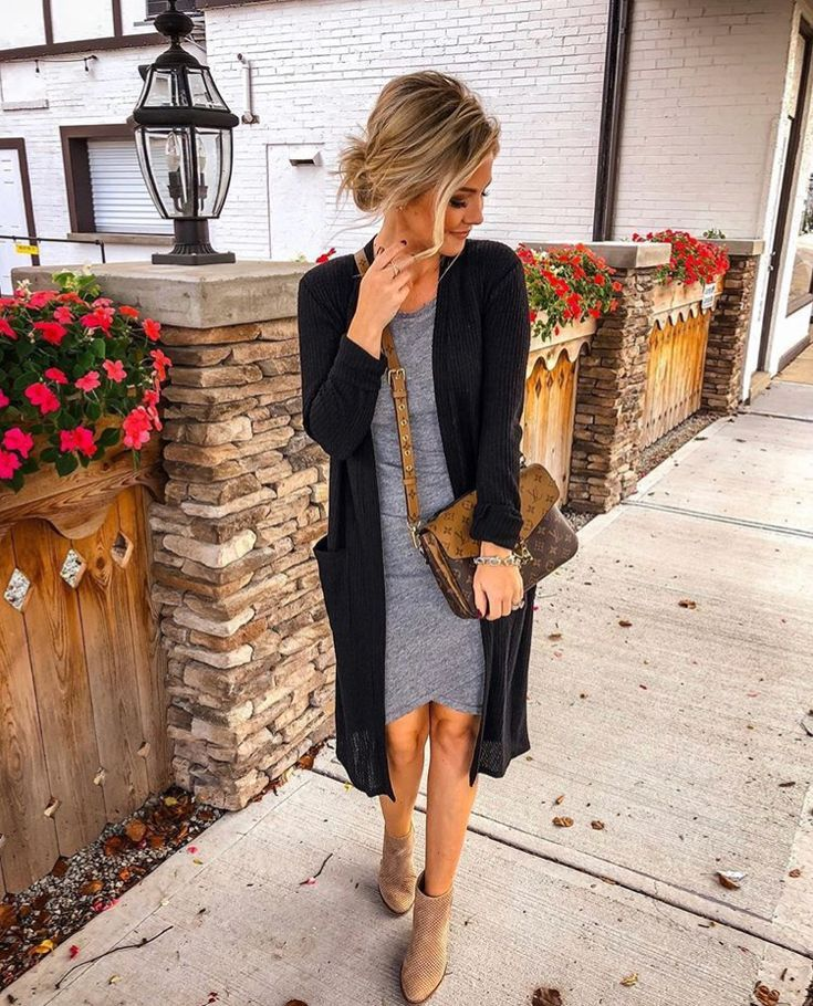 Spring dress with booties 3