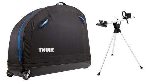 Der Thule RoundTrip Pro ist ein Softshell Fahrradkoffer inkl. Montageständer. Mit diesem Koffer ist jede Reise ein Kinderspiel. Dank dem Fahrradständer können Reparaturen, Einstellungen etc. einfach udn unkompliziert getätigt werden. Durch die Griffe und Räder am Koffer ist dieser leicht und bequem zu transportieren und zu manövrieren. Die Seitenteile sind faltbar und der Rahmen zusammenklappbar.Durch eine integrierte Rädertasche im Innern, wird der Kontakt zwischen Rahmen und Räder…