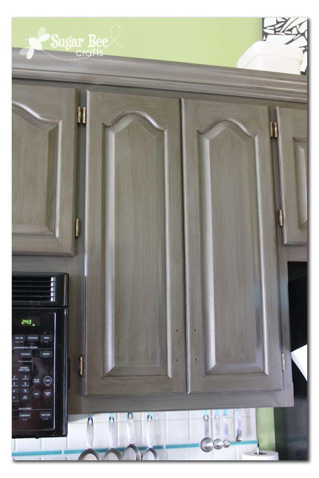 Best Rustoleum New Grey Kitchen Cabinet Transformation Castle 400 x 300