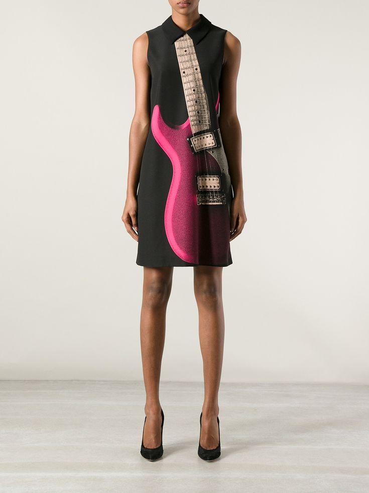 Black dress cheap guitars