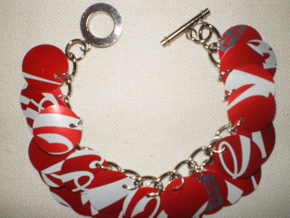 Soda Can Bracelet Arizona Green Tea by sodacangirl on Etsy