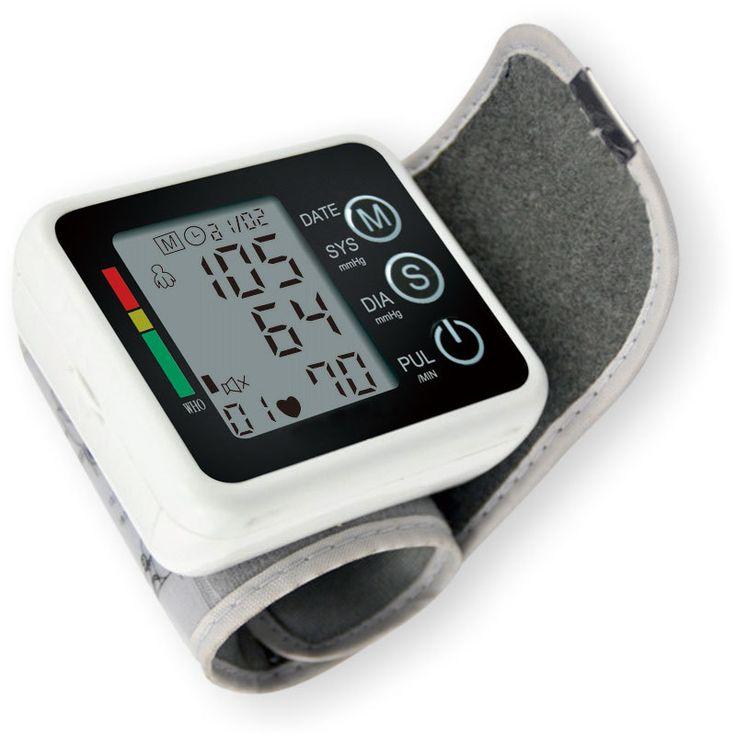 Medição de pressão arterial medidor de pressão arterial Digital de saúde, Casa de saúde com Monitor de esfigmomanômetro alishoppbrasil