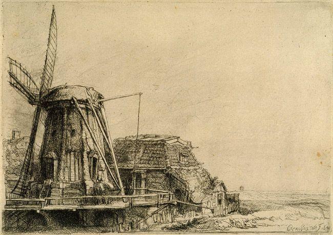 Rembrandt (Rembrandt van Rijn): The Windmill (41.1.12) | Heilbrunn Timeline of Art History | The Metropolitan Museum of Art