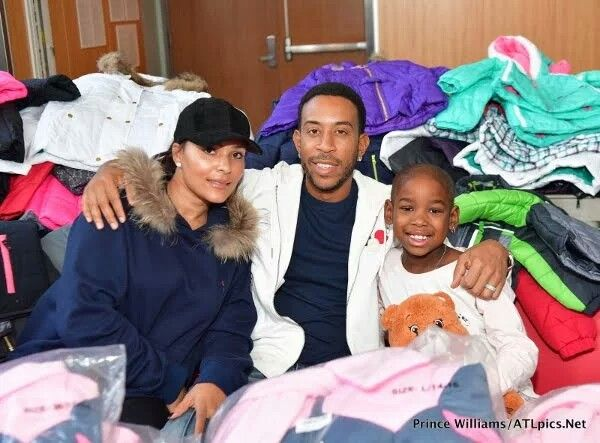 THANKSGIVING IN THE 'A': Ludacris & Eudoxie, NeNe Leakes, Marlo Hampton, Exes Keshia Knight Pulliam & Big Tigger Hand Out Food & Coats