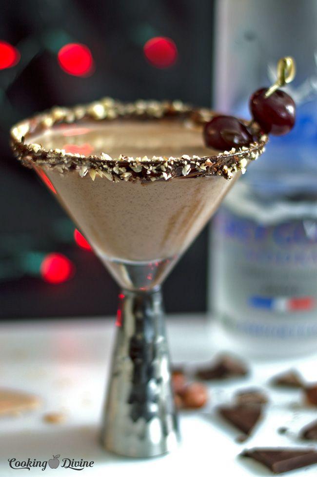 Chocolate Hazelnut Martinis