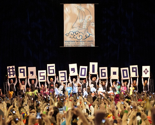 THON shouldn't be forgotten. In 2011, Penn State students raised over $9.5 million dollars to fight pediatric cancer. For The Kids. Donate at THON.org