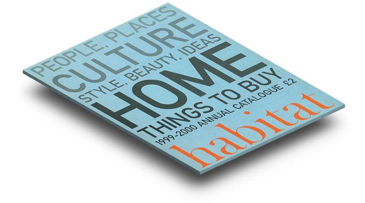 1999's Habitat catalogue cover
