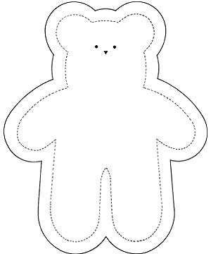 Keepsake Teddy Bear Sewing Pattern | simple teddy bear made from a t-shirt | Sewing ~ Patterns Plus