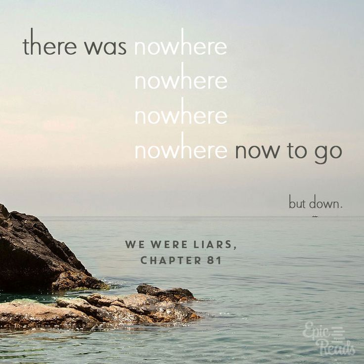 We Were Liars quote | Incredibly Sad Quotes That Will Give You Feelings