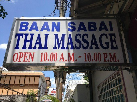 best massage in bangkok - Review of Baan Sabai Spa ...