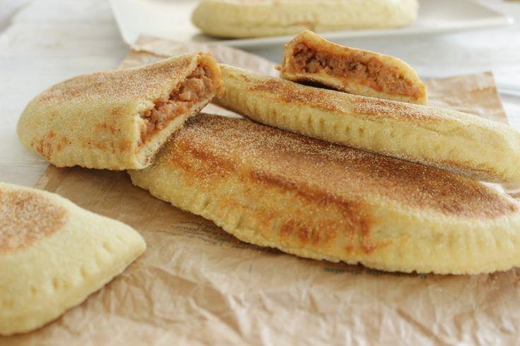 Chaussons à la bolognaise (pâte sans matière grasse ajoutée)