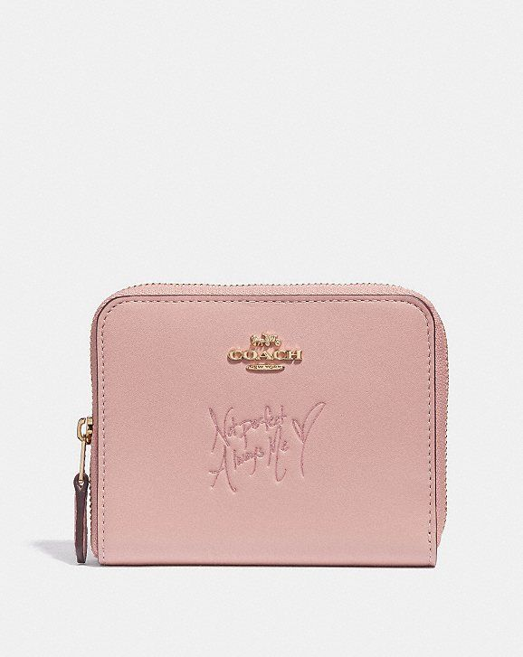 9b2d17f176a1 Coach Selena Small Zip Around Wallet in Colorblock
