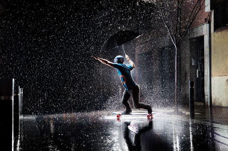 Can you skate in the rain? - YouTube