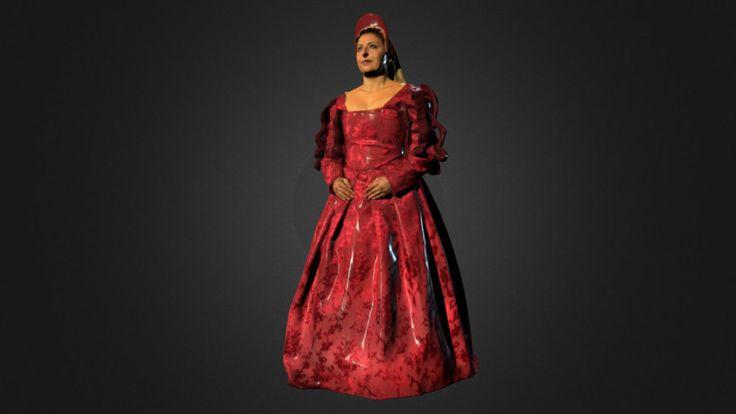 Dama Rinascimentale by lucadibe - 3D model