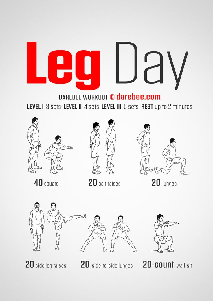 Legs are what you need to use when you want to run (from zombies, werewolves and vampires, for example) and they're also kinda useful in everyday life because we still walk to get to places. This is a workout to help you make them strong and capable of performing at will.