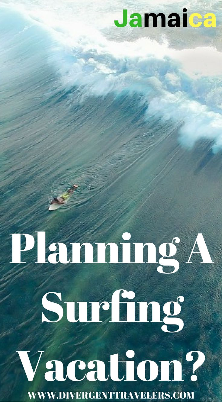 Planning a surfing vacation to Jamaica? amaica has some of the best waters in the region for surfing, but yet it is not known to be a surfing host spot. One of the top things to do in Jamaica is surfing because the wind swells from the northeast, the island's north and south coast, along with its eastern tip, Jamaica is blessed with surprisingly good surfing spots throughout the Island. Click to read more https://www.divergenttravelers.com/surfing-in-jamaica/