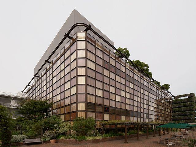 Kengo KUMA,玉川タカシマヤ|建築作品集|外壁・外装建材のアートテック