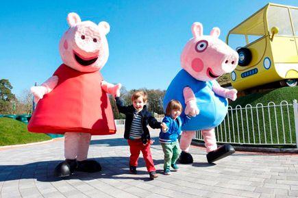 Peppa pig park, southampton, england