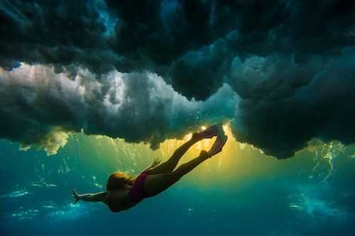 These Are the Bikini Photos to End All Bikini Photos  http://www.womenshealthmag.com/fitness/underwater-photos-of-surfers