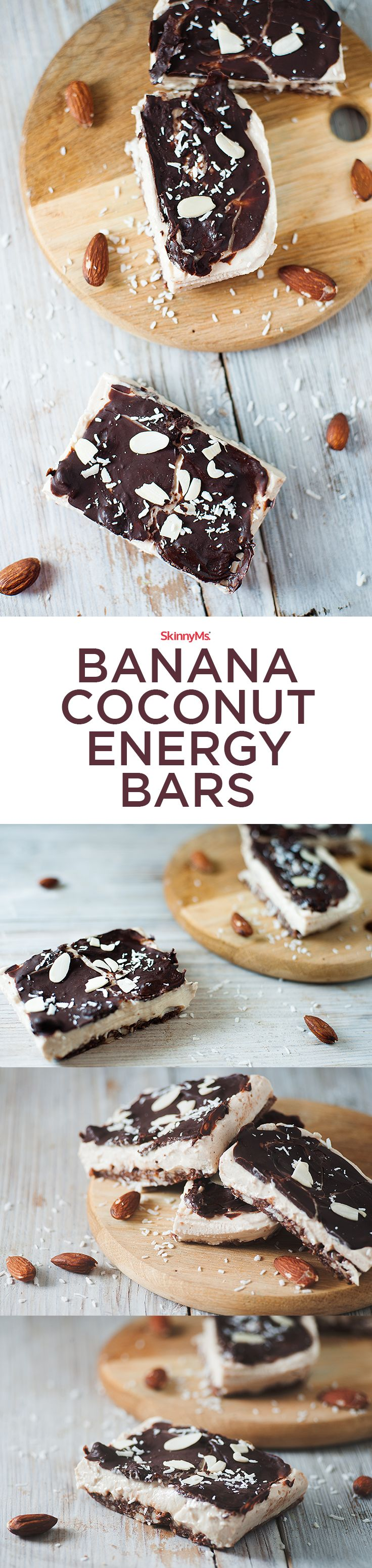 Our Banana Coconut Energy Bars include clean ingredients, so they taste far better than any you can find on a shelf!
