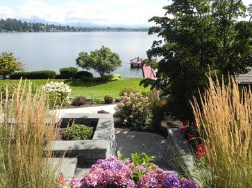 Waterfront landscape design ideas pictures remodel and for Waterfront landscape design