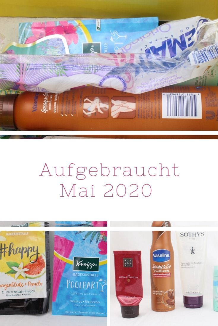 Beauty Aufgebraucht Mai 2020 Beauty And The Beam In 2020 Body Lotion Gesicht Pflege Peel Off Maske