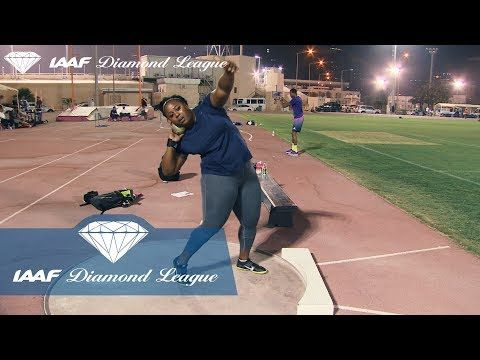 SHOT PUT VETERANS: Michelle Carter's guide to the perfect Shot Put te...