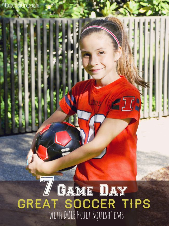 #Sponsored  7 soccer game day tips and encouraging people to share their own tips for a chance to win $5,000... stop on by!     http://club.chicacircle.com/7-game-day-great-soccer-tips-with-dole-fruit-squishems/  #gamedaygreat  #giveaway