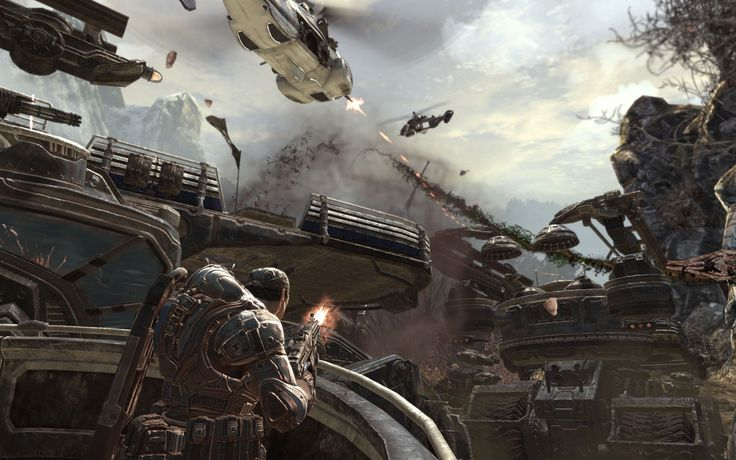 2560x1600 beautiful pictures of gears of war 2