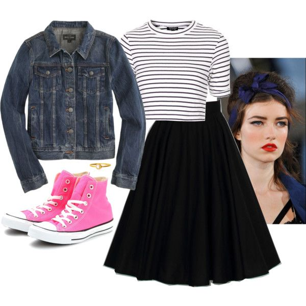 Pink Converse outfit and need a pink purse tho!       #cheap #Sneakers