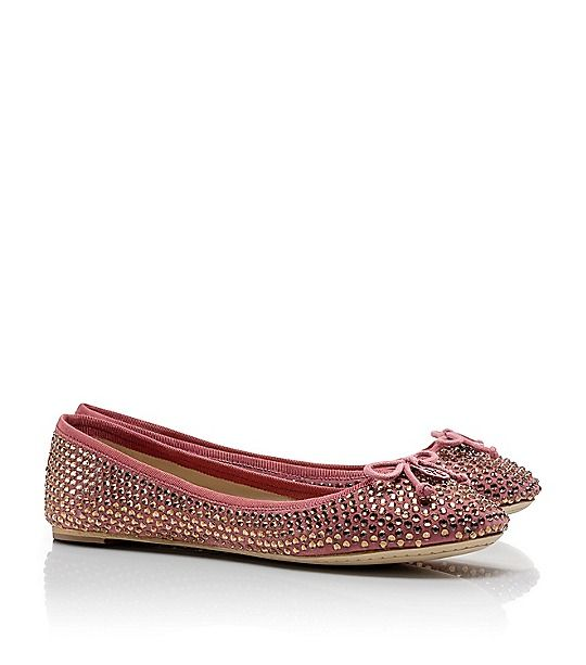 Crystal Chelsea Ballet Flats,,,but in navy!