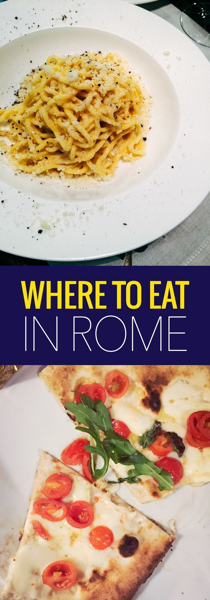We ate an awful and amazing meal in Rome on the same day, learn what we did and where to eat in Rome. ~ http://www.baconismagic.ca