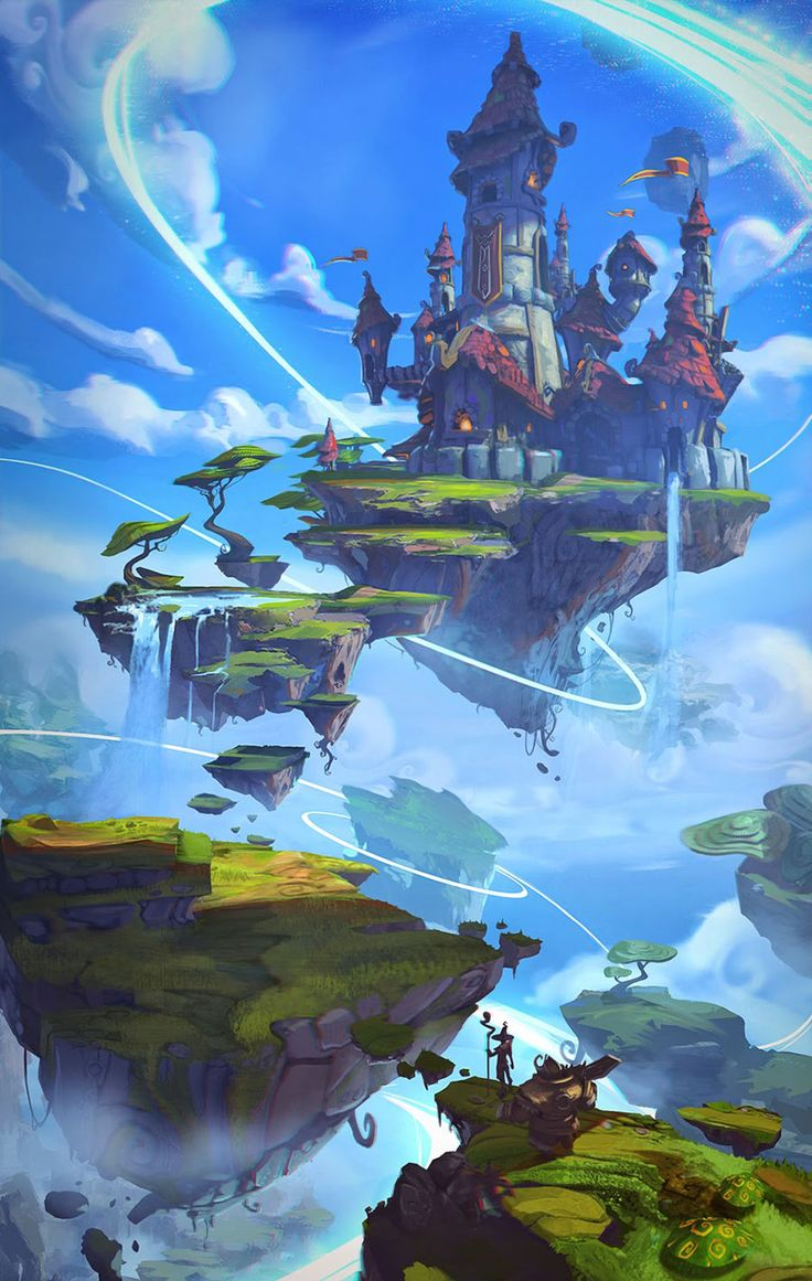 Floating Capitol from Project Spark- this is surreal which is what I'm going to try to do for my final piece. but its quite utopic and positive and I'm going to aim for  something which is more of a pandemonium.