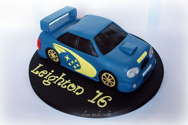 rally car wedding cake topper subaru cake via flickr of your favourite car or for 18964