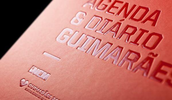 Agenda & Diário Guimarães by WHITESTUDIO , via Behance