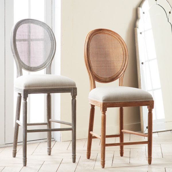 Louis Cane Back Stool Furniture Leather Dining Room Chairs Upholstery Fabric For Chairs