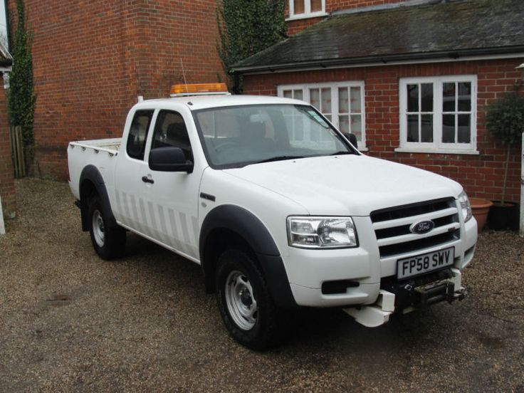 2009 FORD RANGER 2.5 TDCI SUPER CAB - CREW CAB - PICK UP - ONE OWNER