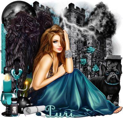 "MI RINCÓN GÓTICO: CT for Lizquis Scraps, "" NIGHT ANGEL"""