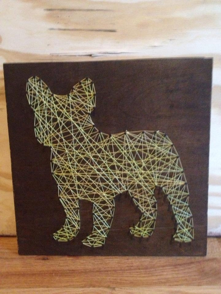 String and Nail French Bulldog Mini...Love This!!!