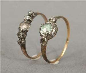 Lauritz.com - Ringar - Antika diamantringar, 1800-tal - SE, Örebro, Aspholmen