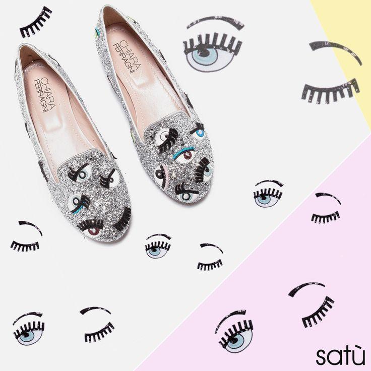 Chiara Ferragni #shoes #shoes #Glitter #Sparling #Fashion  The Blonde Salad