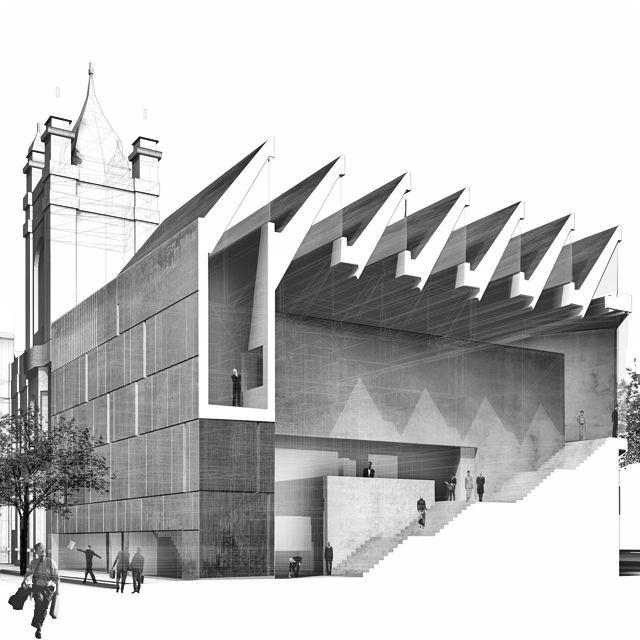 Art Gallery & Museum  Cheltenham, UK | Terry Pawson architects